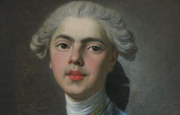 Граф Прованский, будущий Людовик XVIII в детстве.