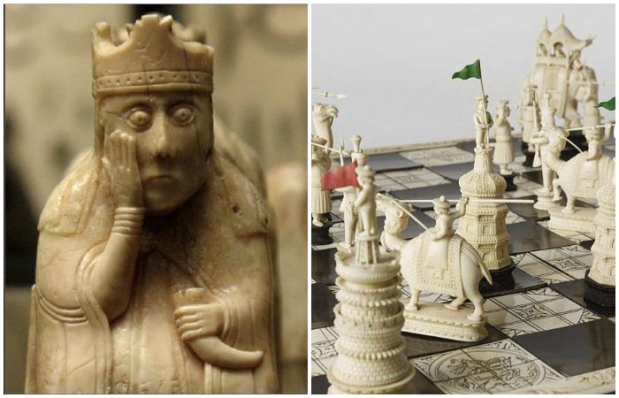 Такие разные шахматы...